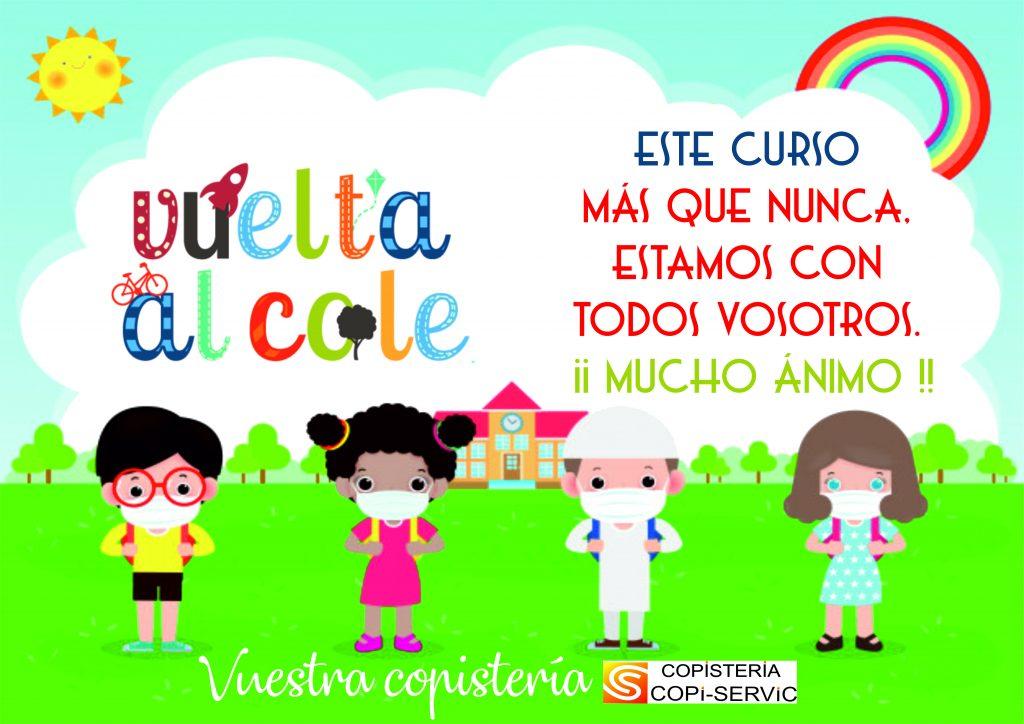 VUELTA AL COLE 2020/2021 con Copistería Copi-Servic de Jaén