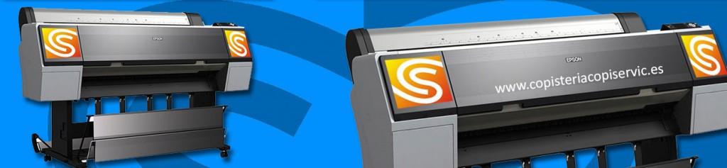 Impresión digital Gran Formato en copistería Copi-Servic