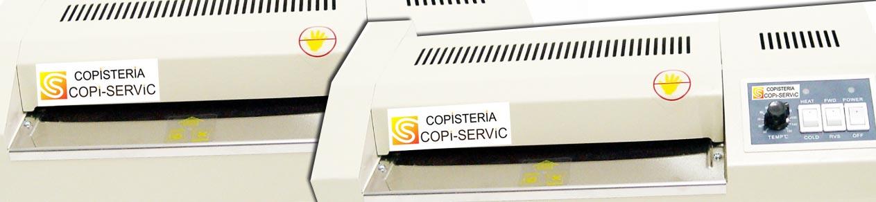 Plastificados y laminados hasta ancho A3 en Copi-Servic Jaén